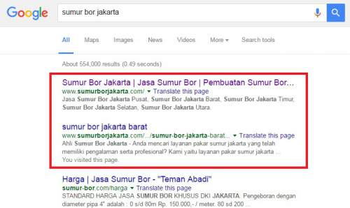 Optimisasi Mesin Pencari google
